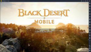 LDPlayer black desert starting