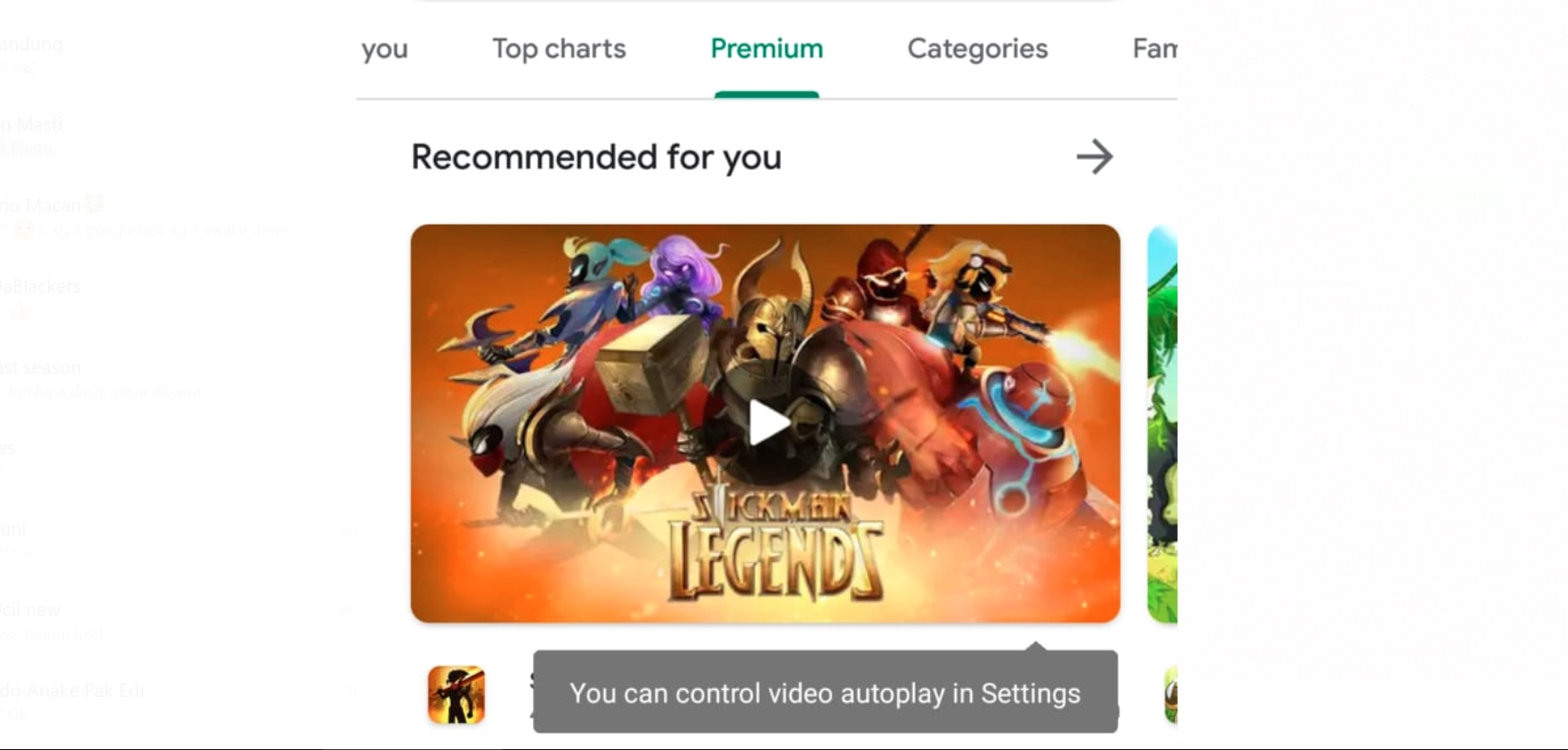 How to Disable Auto Play Video on Google Play Store